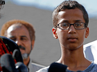 TECH giants MIT, Facebook, Twitter and Google are fighting over the teenager who was arrested after his teachers mistook his homemade clock for a bomb.