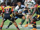 IPSWICH Jets prop Rod Griffin admitted to being nervous before the clash with the PNG Hunters on Sunday.