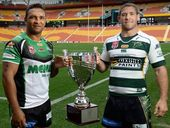 THEY are two old mates and both cut from the same cloth, but only one of them can be a winner on Sunday.