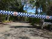 AN IPSWICH man has died in mysterious circumstances following a disturbance near Bundaberg.