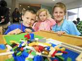 Brick by Brick Lego exhibition encourages children to interact and learn to build imagination.