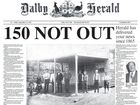 THE Dalby Herald is moving back to its old broadsheet format to celebrate its 150 year anniversary of bringing news to the local community.