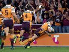 A FRESH Brisbane cashed in on a Shaun Kenny-Dowall first-minute clanger to play their way into next Sunday's NRL grand final with a 31-12 win over the Roosters.