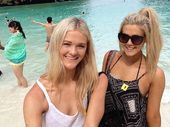 WHEN Michaela and Savannah Callow were sipping cocktails at their resort in Thailand they never thought they'd be asked to feature on national television.