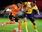 A SIZEABLE crowd witnessed the Brisbane Roar defeat the Central Coast Mariners in a Hyundai A-League preseason friendly at Sunshine Coast Stadium last night.