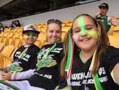 THANK you to all our Facebook readers who sent in images from the Ipswich Jets game at Suncorp Stadium on Sunday.
