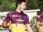 BRISBANE halfback Ben Hunt could miss two weeks of play after being hit with a dangerous throw charge.