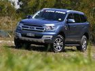 Ford Everest SUV road test