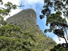 Climbing to the Mount Warning summit is 25 of 100 in a new bucket list.