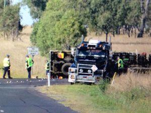 Man killed as truck and car collide at Peak Crossing