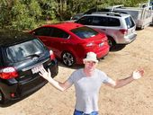 HAPPY Valley visitors have been leaving very grumpy these school holidays with parking officials issuing $88 fines for stopping in an unmarked spot.
