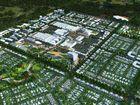 AERIAL VIEW: The proposed Aura city centre.