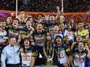 JOHNATHAN Thurston has led his Cowboys to grand final glory in golden point time after a titanic struggle between two of the best sides in modern era footy.