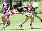 Action from the U18 Capras trial game against the Redcliffe Dolphins.   Photos CHRIS ISON