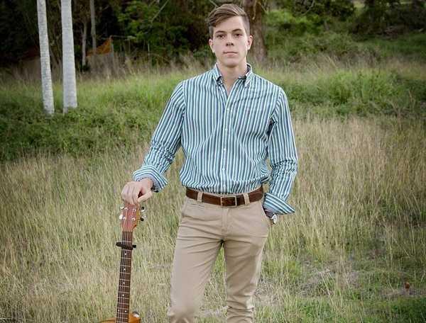 Yeppoon teen Wilson Boyd won a modelling scholarship to Florida, USA.