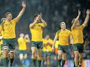RUGBY: Wallabies beat England 33-13 at Twickenham, making England the first nation to host a World Cup and not make it to the quarter-finals.