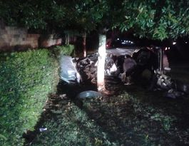 Resident can't believe crash driver escaped mangled wreck