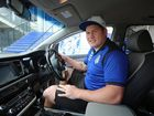 Big man, big family: needs a big car. Eight-seat Kia Carnival one of the Cantebury Bulldogs player's rides of choice