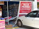 Car crashes into Minyama chemist