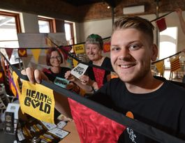 Meet the Heart of Gold filmmakers here in Gympie