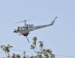 Firies watchful as bushfire burns near Toowoomba