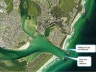 """PLANS for a """"one-off"""" dredging of the dangerous Richmond River bar at Ballina are moving forward, with up to 30,000 tonnes of sand expected to be removed."""