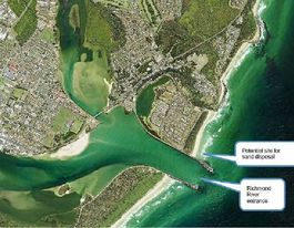 Plan to dredge dangerous Richmond River bar at Ballina