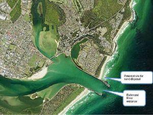 Plan to dredge dangerous Richmond River bar at Ballina