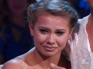 Bindi Irwin cries after paying tribute to her father on Dancing With The Stars.