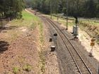 THIS single rail line is all that now exists to provide trains to the new city of 50,000 people announced south of Caloundra by deputy premier Jackie Trad.