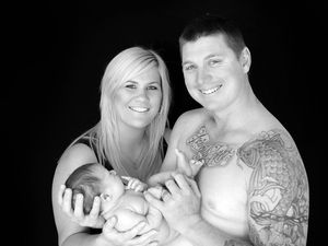 Kellie, Jared and Zain Coey. Photo: Enigma Visions Photography