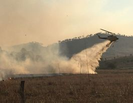 Shed damaged, house saved in fire east of Toowoomba