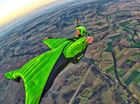 MOUNTAIN Creek housemates Chris Byrnes and Royce Wilson are quitting their jobs and moving to America to become professional wingsuit pilots.
