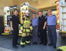 First hand account: Stepping into the shoes of our firies