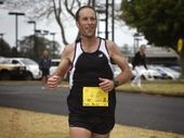 DEFENDING champion Andrew Prentice will be out to retain the Roger Guard Memorial Trophy when he takes to the city streets on Sunday for the Toowoomba Marathon.