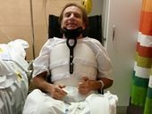 SHANE Brunner is determined to walk again after a motorcycle accident left him a paraplegic.