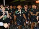 The Ipswich Jets were honoured with a parade in the Ipswich Mall after their stellar 2015 season on Thursday.