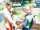 Carmen mixes her love for children and gardens