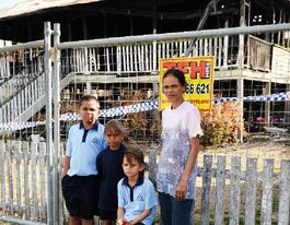 VIDEO: Family looks towards a brighter future after fire