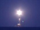 RUSSIAN warships have launched cruise missile strikes against insurgent targets in Syria, as warplanes went into action in support of a major ground offensive.