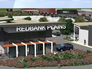 Construction has begun on a new $140 million-plus Town Square in Redbank Plains. Photo Contributed