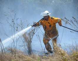 UPDATE: Kinkuna fire now under control, homes safe