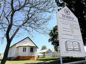 CONTROVERSY: Trinity Evangelical Lutheran Church in Marburg has come under fire after a Marburg family had to look elsewhere to organise a funeral.