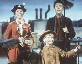 Mary Poppins in Rocky, practically perfect