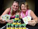 KNOWING whether to hold or fold won't be the only thing on Cindy Dryden's mind at tomorrow's Sunshine Coast Ladies Pink Poker Championships.