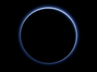 Nasa announcement: Pluto has blue skies and water ice