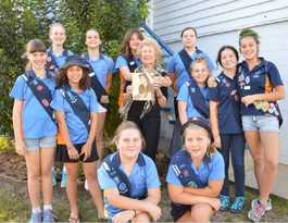 Girl Guides take part in jamboree
