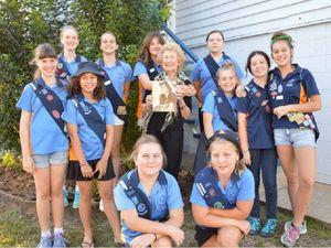 Girl Guides take part in jamboree