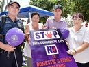 AN event will be held at the Hervey Bay Community Centre on November 25 to raise awareness about the fight against domestic violence.