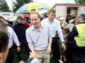 PRINCE William lived up to his reputation as 'the people's prince' when he visited Ipswich and the Lockyer Valley to comfort those affected by the 2011 floods.